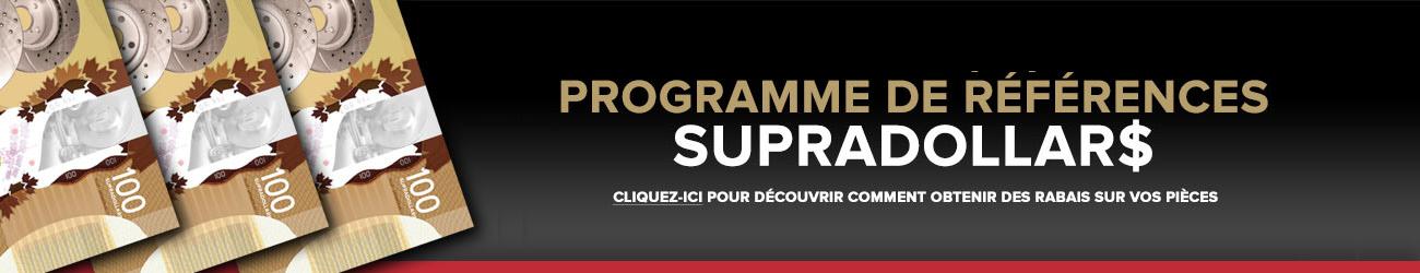 Programme de références SUPRADOLLAR$
